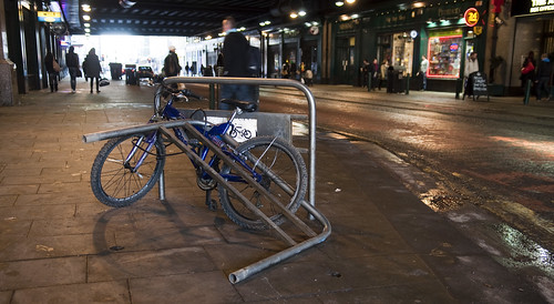 Station bicycle parking
