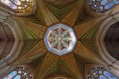 Ely Cathedral Roof (Explore #14) (m78kem) Tags: roof colour canon cathedral religion symmetry ely fens cambridgeshire eos50d