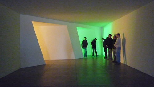 Dan Flavin (realized posthumously, I was sad to find out).