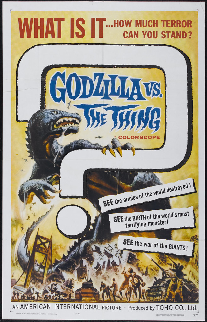 Godzilla vs. the Thing (American International, 1964)