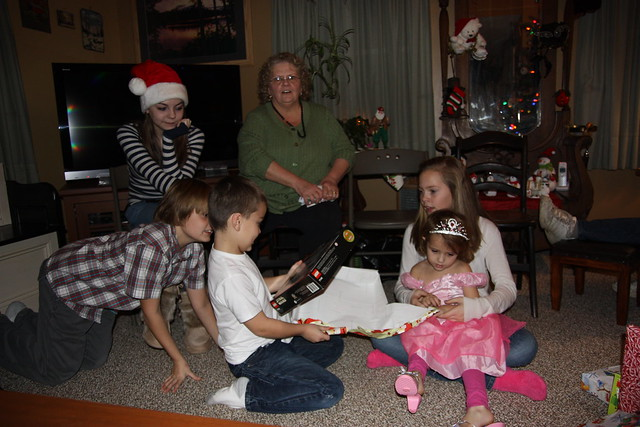 Christmas at Grammy and Grampies