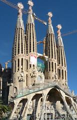 Antoni Gaudí, Sagrada Familia, Left Transcept Spires