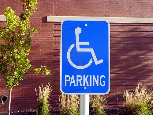 Handicapped Parking Sign by TheDarkThing, on Flickr