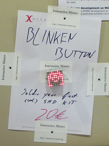 The official Blinken Button Marketing Material