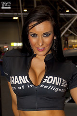 People - Jen Morgan - Marangoni - Autosport Show 2011 - Birmingham NEC - 110116 - Steven Gray - IMG_9256