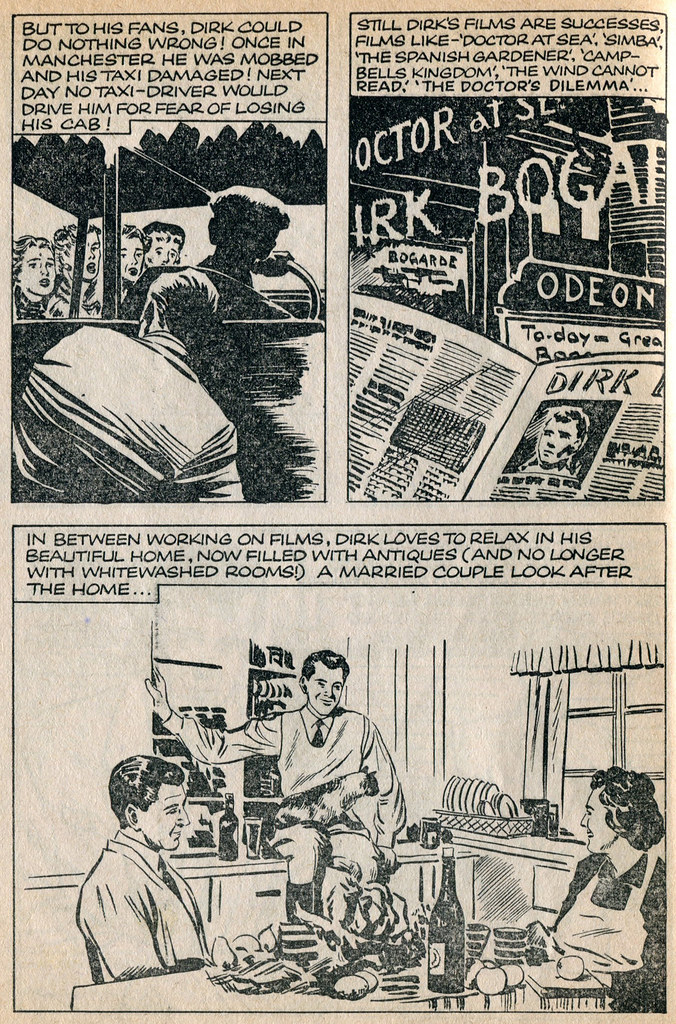 Dirk Bogarde comic 21