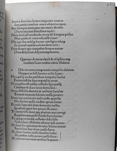 Annotation in Tibullus, Albius: Elegiae