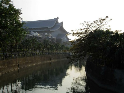Love River and Jingsi Hall (Viewed From Longhua Bridge)