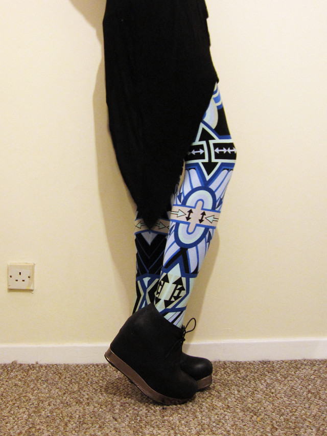 holly fulton for asos leggings