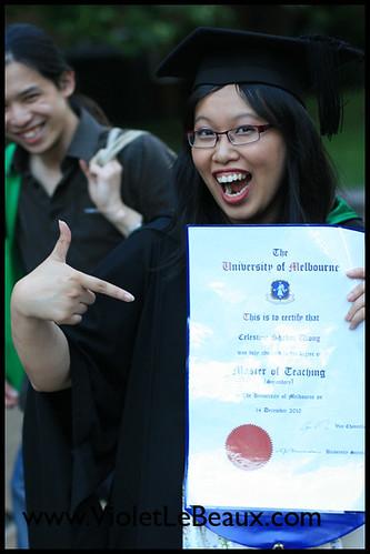 Celeste's Graduation!