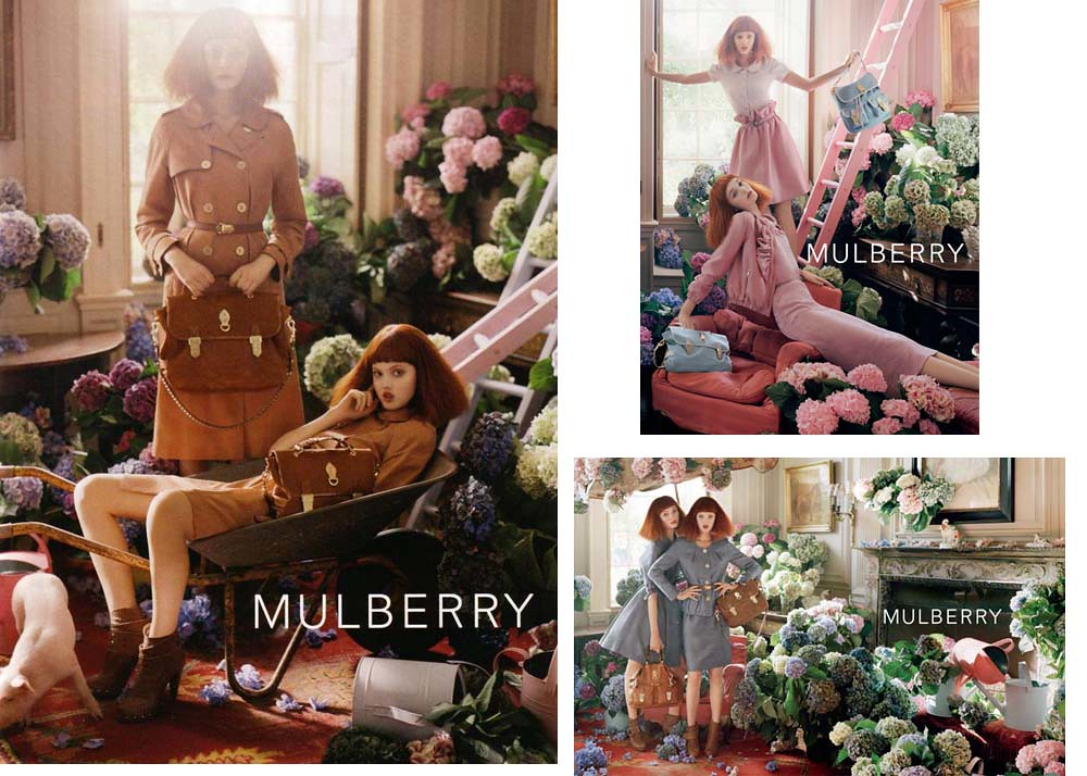 mulberry photo ad