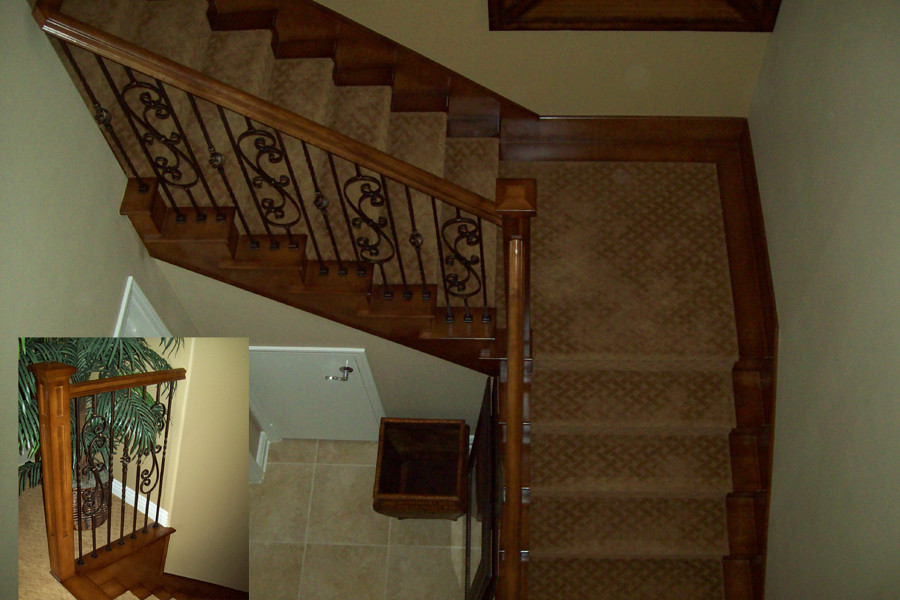 TurA1 (k Pinson Stairs) Tags: Stairs Staircase Handrail Remodel  Spiralstaircase Spiralstairs Circularstairs Treads