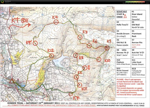 KT 2011 with route