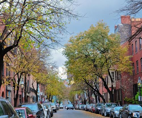 Boston Beacon Street