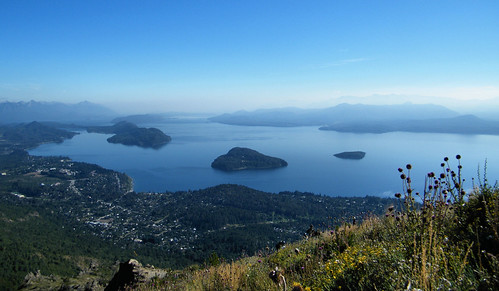 Lago Nahuel Huapi from Cerro Otto, Bariloche, Argentina by katiemetz, on Flickr