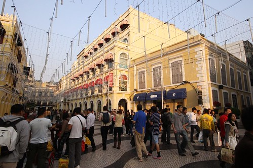 Shops in Senado Square, Macau