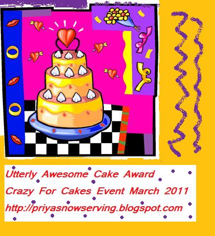utterly awesome cake award
