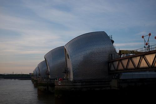 Thames barrier ©  Still ePsiLoN