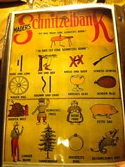 Schnitzelbank!