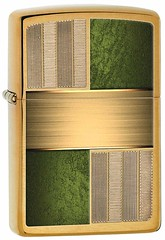 PJ17707, (fireshop_at) Tags: 204 28796 28796v20tif autoengrave brass brushedbrass check classic colorimaging design epoxy green image imageassets lighter productstock windprooflighter zc14 zcu14 zippo