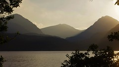 Arrochar Alps Through The Trees (brightondj - getting the most from a cheap compact) Tags: scotland trossachs inversnaid fifthwalk lochlomond arrocharalps summer2016 holiday summerholiday uk britain ukholiday