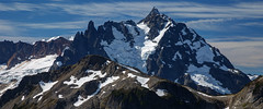 Mount Shuksan (keithc1234) Tags: shuksan mtshuksan hanneganpeak mtbakerwildernessarea landscape mountains clouds glaciers northcascades northcascadesnationalpark