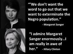 Margaret-Sanger-Hillary-Clinton (Rex Morache) Tags: hillary clinton planned parenthood abortion womans rights birth death black lives matter political progressive pregnant liberal