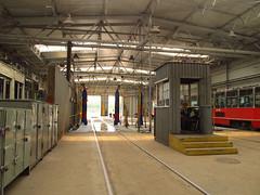 Tram wash (transport131) Tags: tram tramwaj bdzin t kzk gop wash myjnia zajezdnia depot