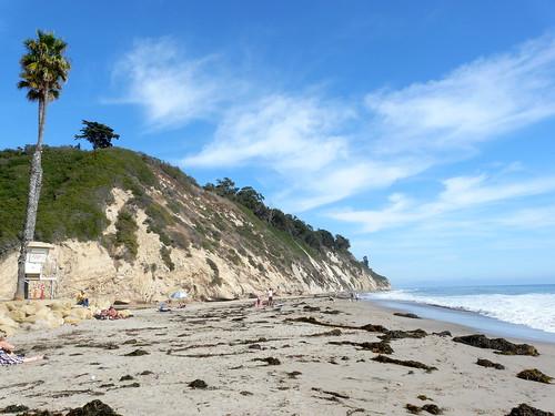 Une plage près de Santa Barbara