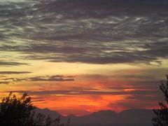 Sunrise over the Taigetos 3 (Gregelope) Tags: winter sky mountains colour beautiful beauty sunrise greece views coastline tranquil ellada messinia pelopponese