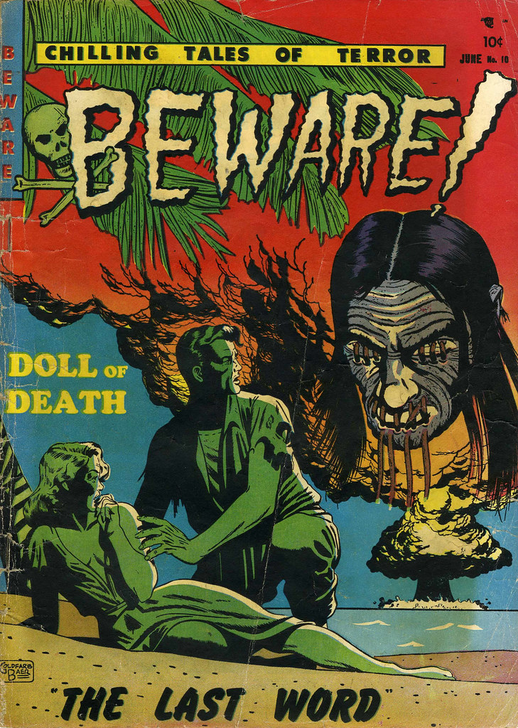 Beware #10 (Youthful Magazines, 1952)