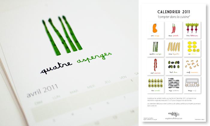 french calendar