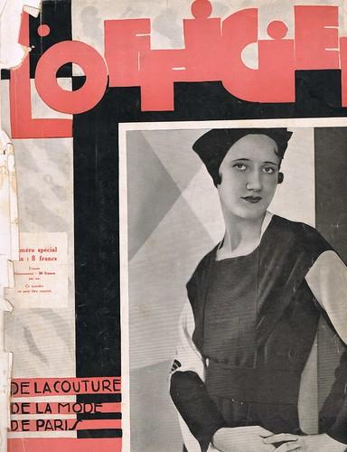 L'Officiel magazine, 1932