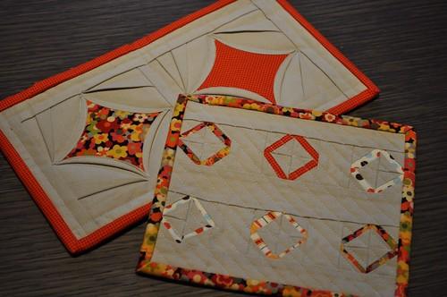 New mug rugs from valmiller!