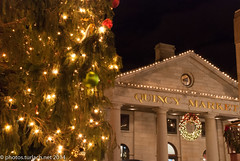 "Quincy Market at Christimas • <a style=""font-size:0.8em;"" href=""http://www.flickr.com/photos/54135982@N06/5217243802/"" target=""_blank"">View on Flickr</a>"