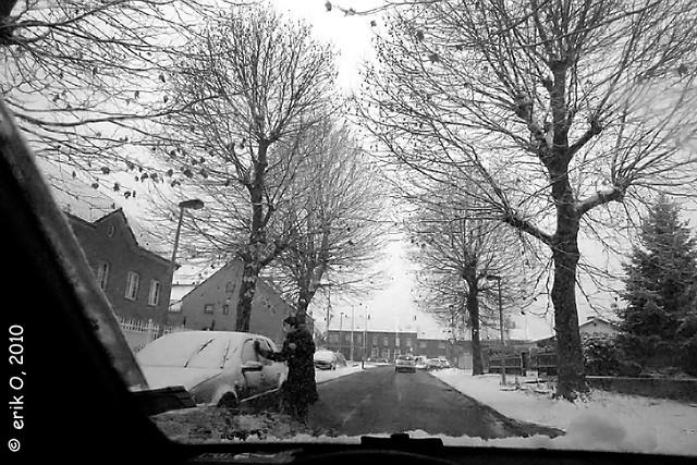 eerste sneeuw gevallen