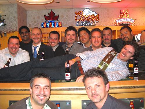 MOlson Movember Toronto crew 2010