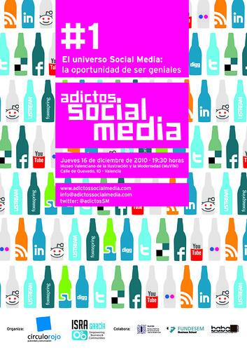 """I Encuentro Oficial Adictos Social Media: """"Universo La Oportunidad de ser Geniales"""" - 16 diciembre en el MuVIM (Valencia)"""