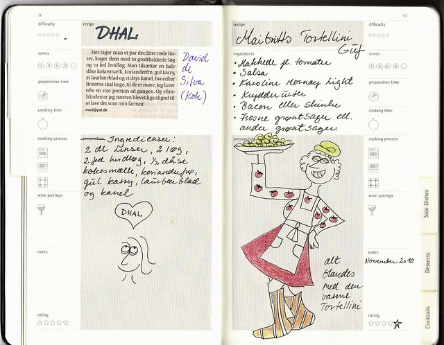 Moleskine Passions Recipe Journal - Main Dishes