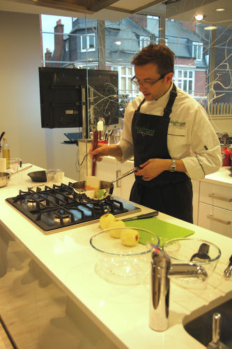 Waitrose Cookery School, Chef James  Campbell 0537 R