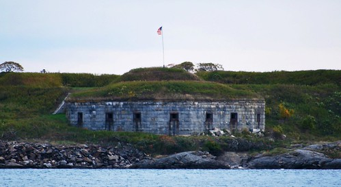 Fort Scammel, Maine
