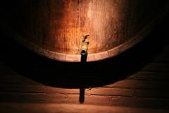Barcelona (Kathy~) Tags: barcelona wood light shadow spain barrel scene winebarrel friendlychallenges herowinner thepinnaclehof gamesweepwinner tphofweek208