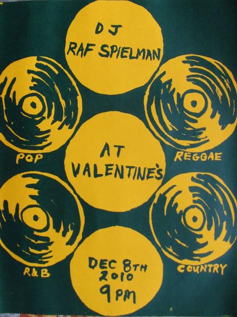 DJ Raf Spielman at Valentine's 2