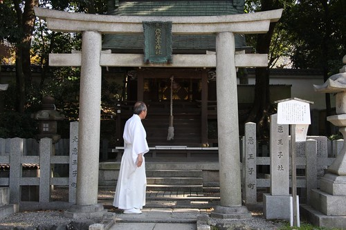 佇む / Yasaka Shrine