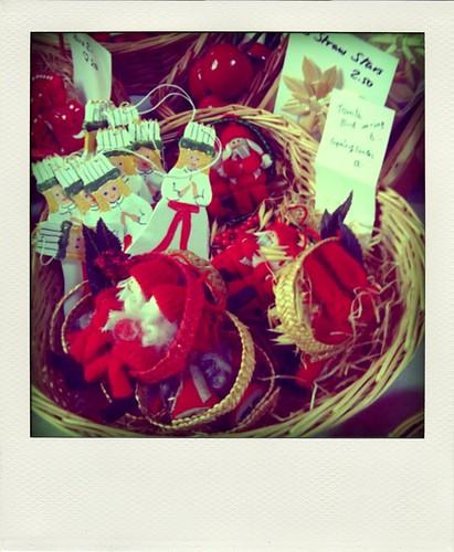 Santa Lucia Ornaments