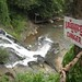 Warning sign, Otavao Waterfall, Pailin, Cambodia