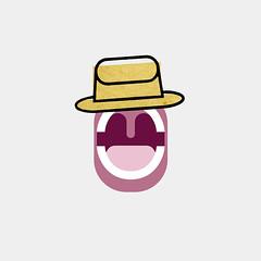 THROAT (diego mir) Tags: valencia illustration square spain diego singer sombrero throat grfico tomwaits cantante ilustracin garganta cuadrado diegomir diegomirilustracin