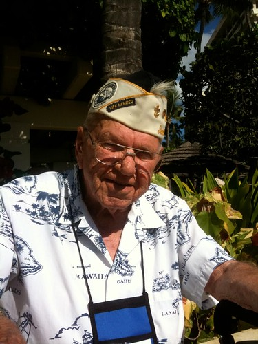 Pearl Harbor Survivors Association Member Stan Reynolds visits Hawaii