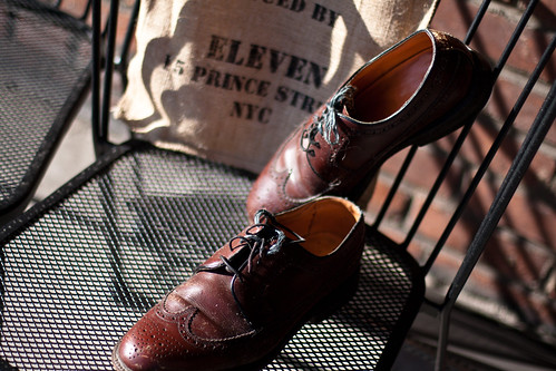 Vintage Brogues - Shoes