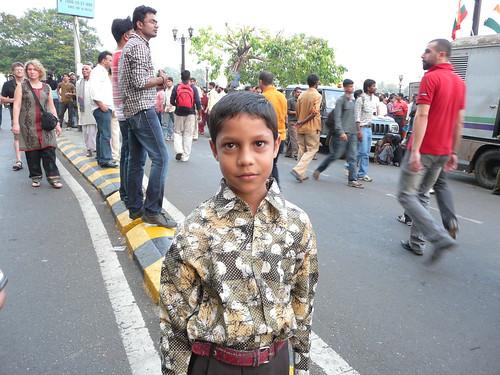 Serious Young Man in Mumbai